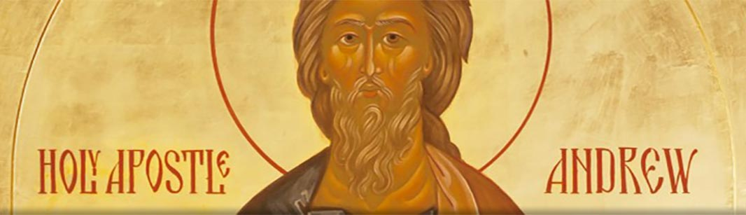 The Holy Apostle Andrew