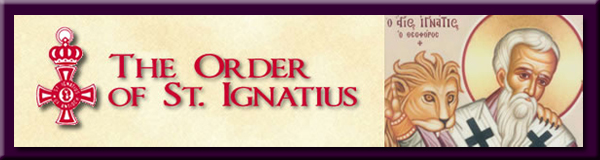 The Order of St Ignatius Logo